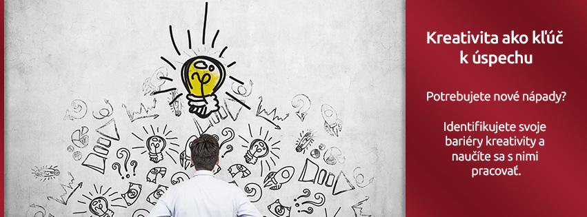 Kreativita ako kľúč k úspechu